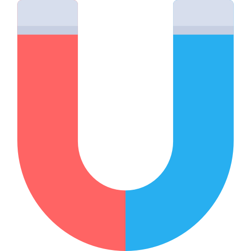 Horseshoe, Magnetic, Attraction, Magnetism, Letter U Icon