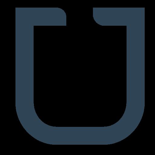 Udacity, Single, Letter, U, Brand Icon Free Of Brands Flat