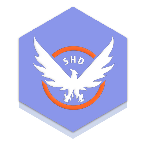 The Division Honeycomb Icon Thedivision