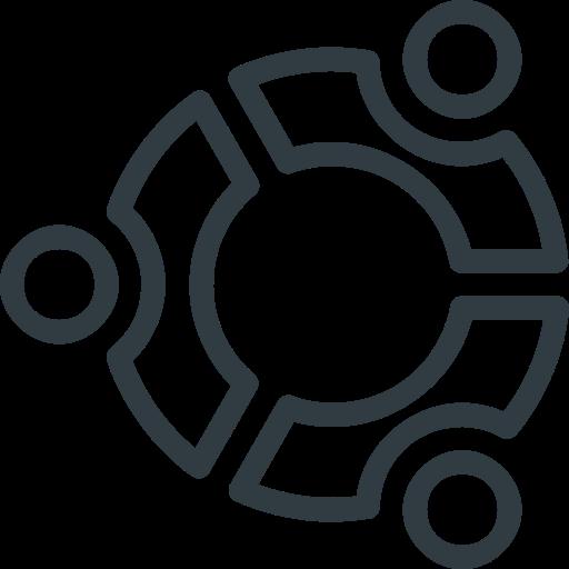 Ubuntu, Logo, Brand, Logos, Brands Icon