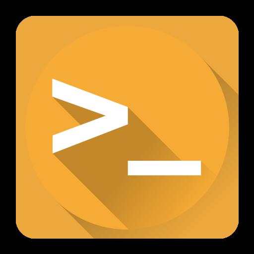 Terminal Icon System Iconset Blackvariant