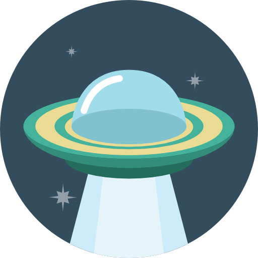 Ufo Icon Flat Iconset Flat