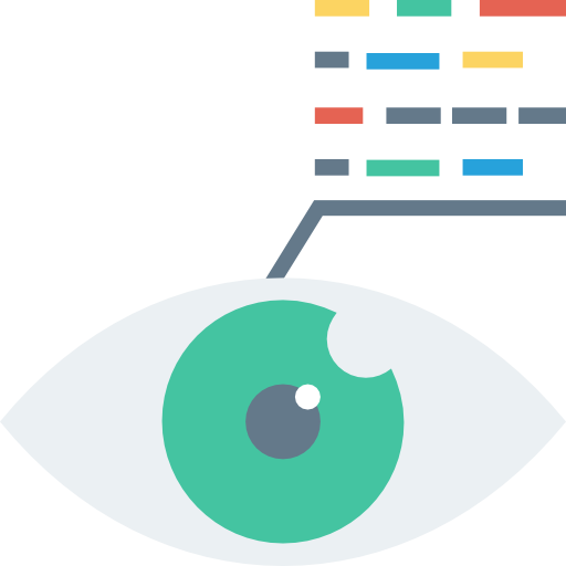 Vision Icon Web Design Development And Ui Dinosoftlabs