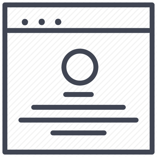 Design, Main, Round, Ui, Web Icon