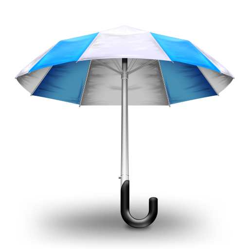Umbrella Blue Icon Free Download As Png And Icon Easy