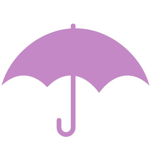 Umbrella Icon Lovely Weather Part Iconset Custom Icon Design