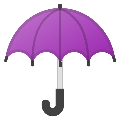 Umbrella Icon Noto Emoji Travel Places Iconset Google