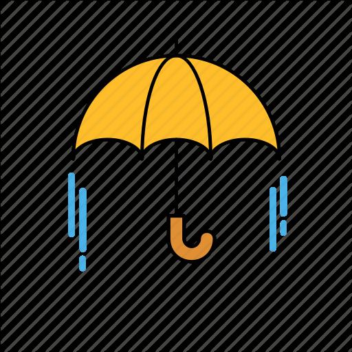 Its Rain, Rain, Umbrella, Umbrella Icon Icon