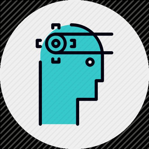 Brain, Cognitive, Function, Mental, Understanding Icon