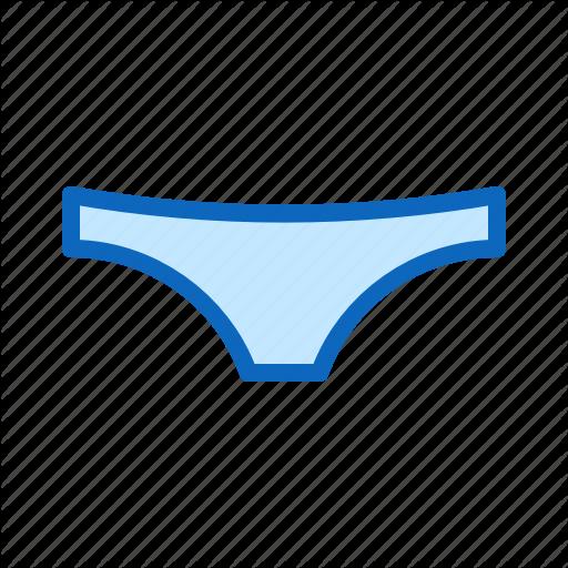 Lingerie, Panties, Underpants, Underwear, Woman Icon