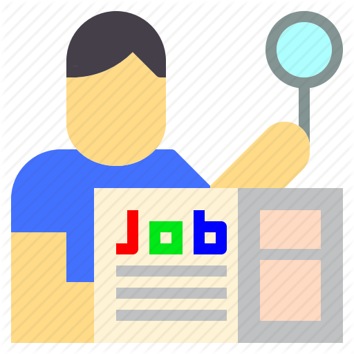 Employee, Hunting, Job, Jobless, Search, Unemployed, Unemployment Icon