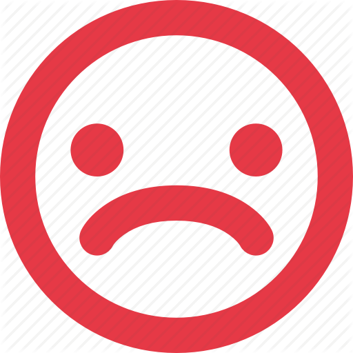 Angry, Emotion, Face, Mood, Negative, Sad, Smiley, Unhappy Icon