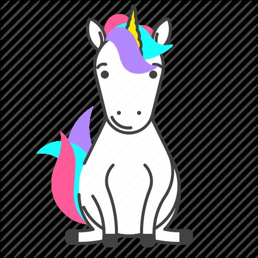 Animal, Fairy, Tale, Unicorn Icon