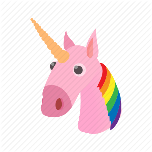 Cartoon, Cute, Horse, Lgbt, Love, Rainbow, Unicorn Icon