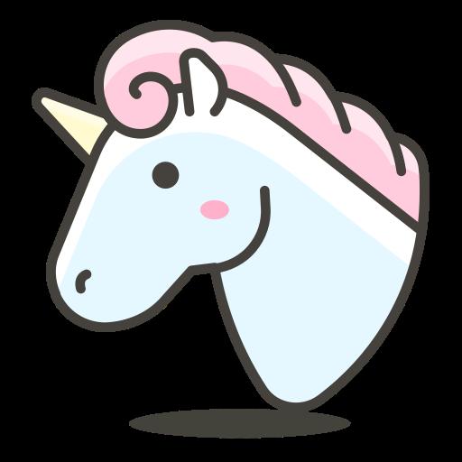 Unicorn Icon Free Of Another Emoji Icon Set
