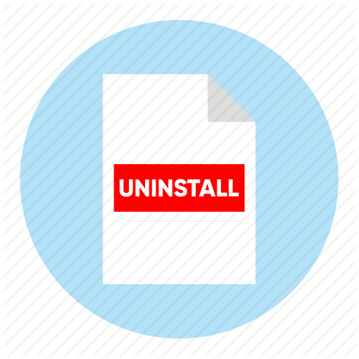 Action, Document, File, Paper, Uninstall Icon
