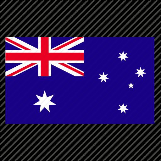 Aus, Australia, Australian, Country, Flag, Jack, Stars Icon