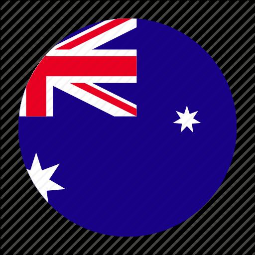 Aus, Australia, Australian, Flag Icon
