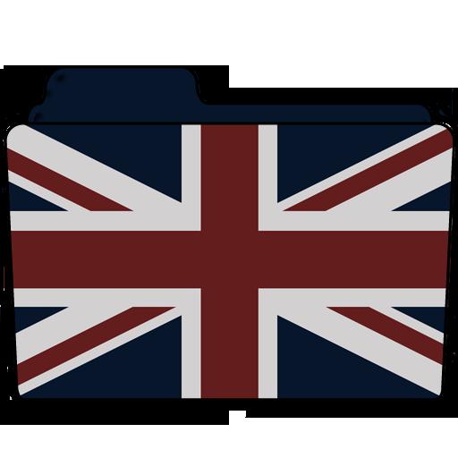 Union Jack Folder Icon Download