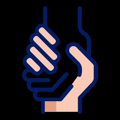 Hand, Help, Inkcontober, United Icon