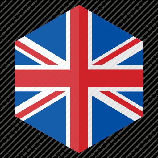 Country, Design, Europe, Flag, Hexagon, United Kingdom Icon