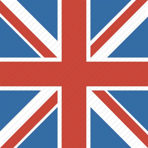 England, Flag, Kingdom, Square, Uk, United Icon