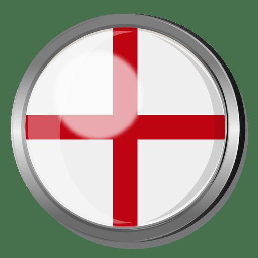 England Flag Badge