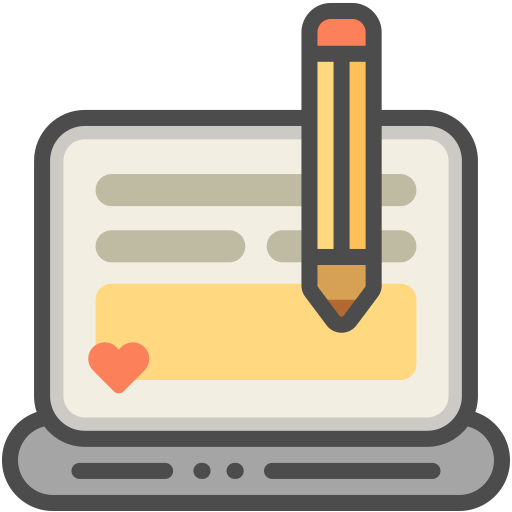 Blog Icon With Png And Vector Format For Free Unlimited Download