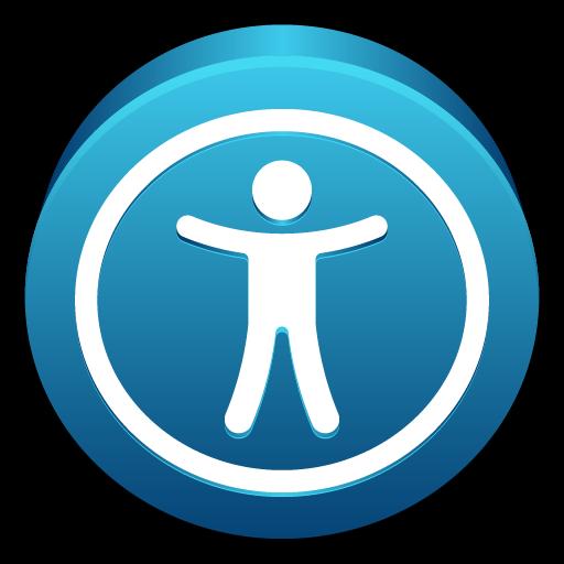 Universal, Mac, Access, Public Icon