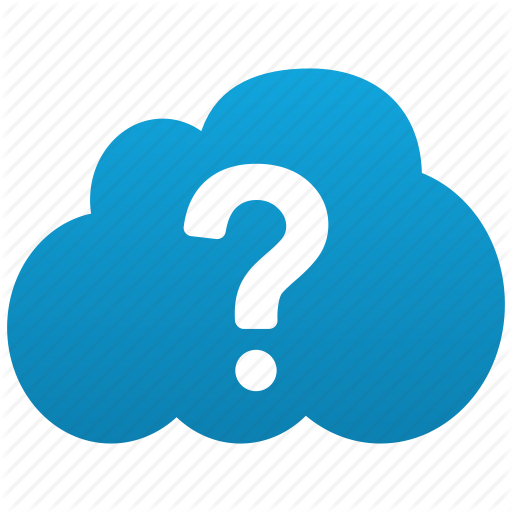 About, Cloud, Help, Query, Question, Support, Unknown Icon