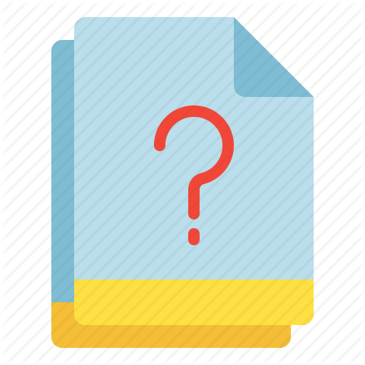 , Miscellaneous, Multiple, Question, Unknown Icon