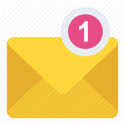 Inbox, Message, New Message, Sms, Unread Message Icon