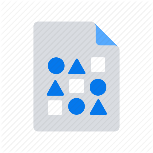 Big Data, Database, File, Structure, Unstructured Icon