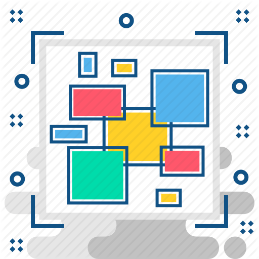Databse, Format, Raw Data, Scattered, Unformat, Unstructured Data Icon
