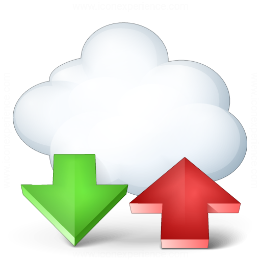 Iconexperience V Collection Cloud Computing Updown Icon