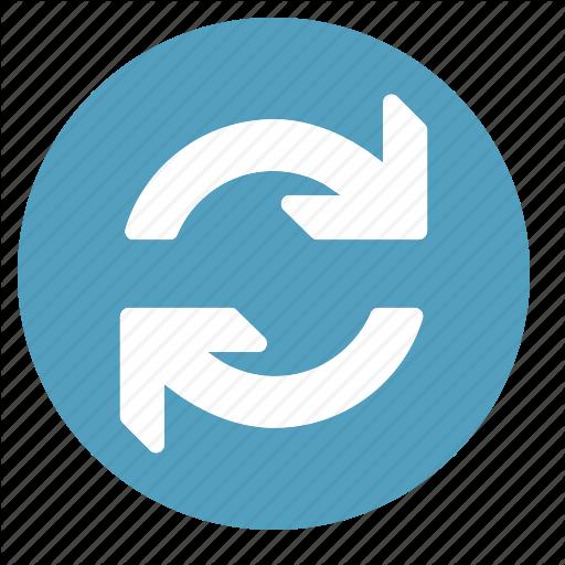 Sync, Synchronization, Update, Updates Icon