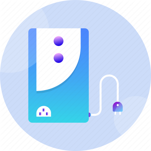 Backup, Battery, Electricity, Energy, Power, Supply, Ups Icon