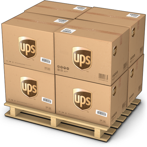 Boxes, Shipping, Ups Icon