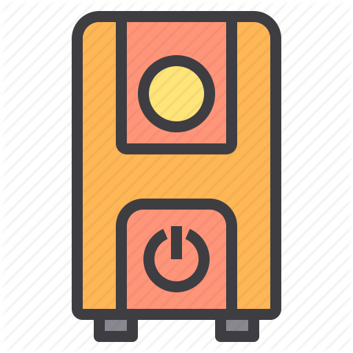 Computer, Device, Interface, Technology, Ups Icon