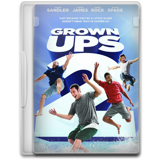 Covers, Cover, Grown, Ups, Movie, Movies Icon Free Of Movie