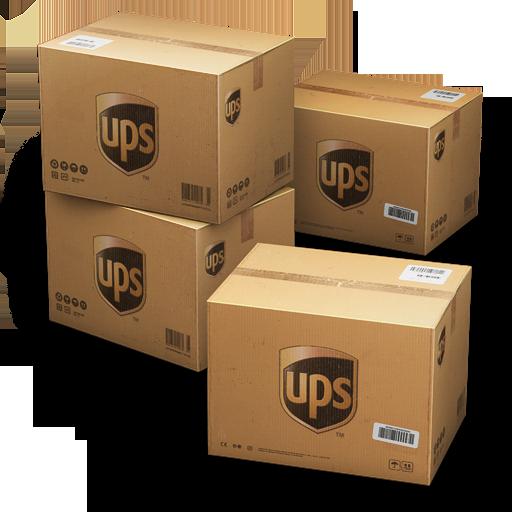 Ups Shipping Box Icon Container Cargo Vans Iconset Antrepo