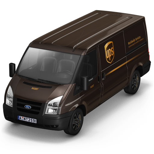 Ups, Front Icon Free Of Container Cargo Vans Icons