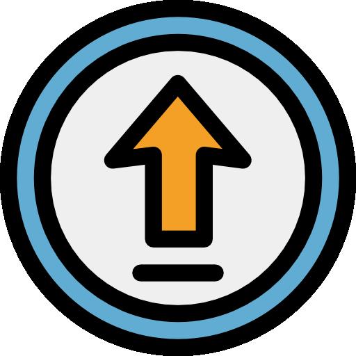 Up Arrow, Directions, Upward Arrow, Arrows Icon