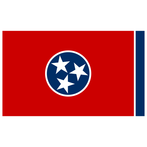 Us Tn Tennessee Flag Icon