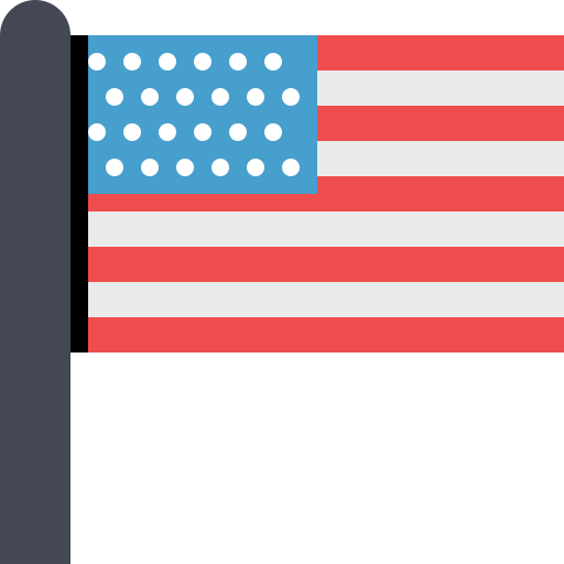 Flag Of The United States Icons, Download Free Png And Vector