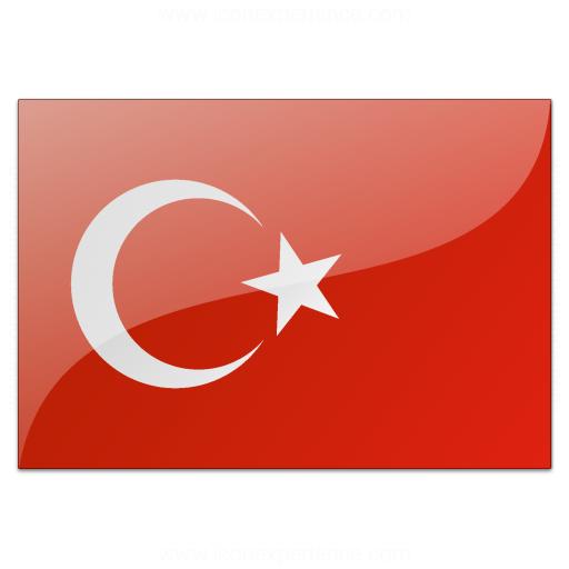 Iconexperience V Collection Flag Turkey Icon