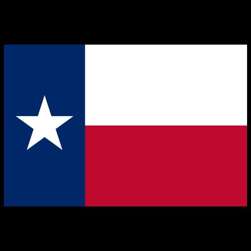 Us Tx Texas Flag Icon