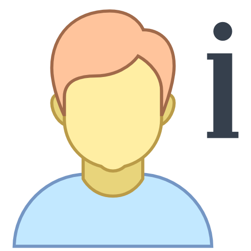About, Us, Info, Man, People, Client Icon Free Of Responsive