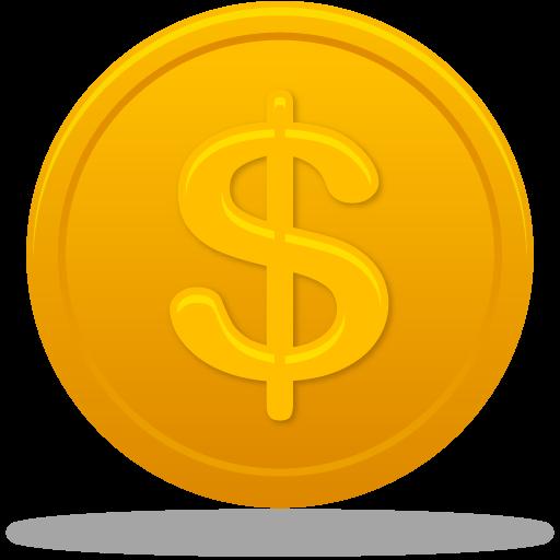 Coin, Dollar, Us Icon
