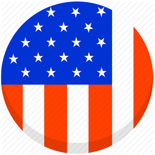 Usa Map Icon Png Flat Images